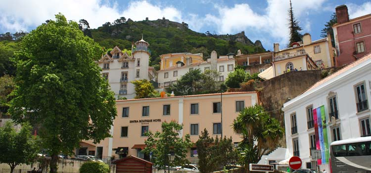town centre of Sintra