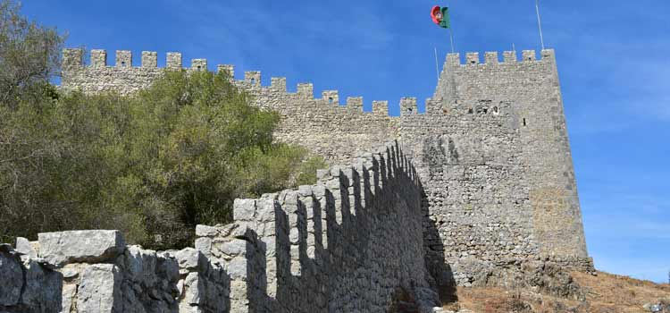 Sesimbra castle keep