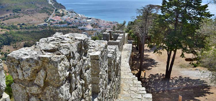 Sesimbra castle views
