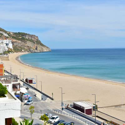 sesimbra portugal beach