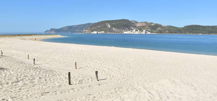 Praia troia setubal portugal