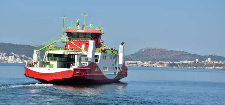 Troia setubal roulier ferry Atlantic Ferries